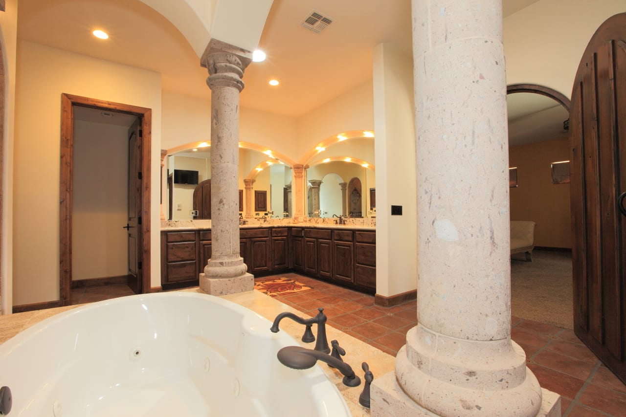 Spanish Style Remodel | 18 | master bath