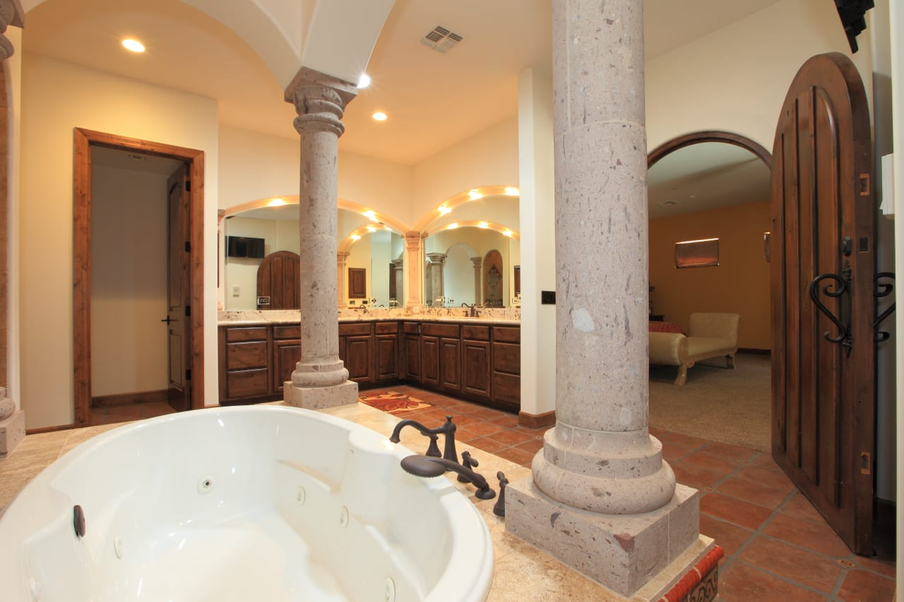 Spanish Style Remodel | 19 | master bath
