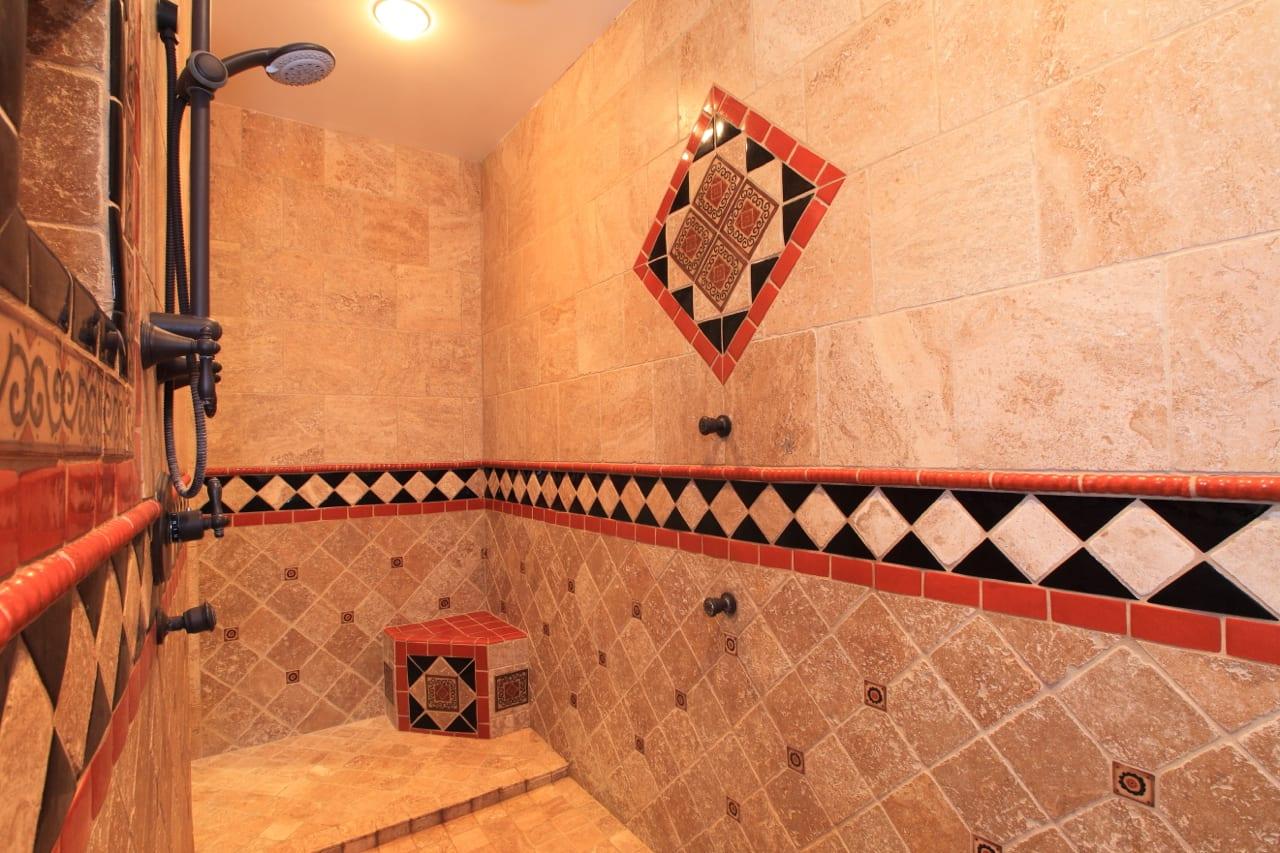 Spanish Style Remodel | 21 | master bath