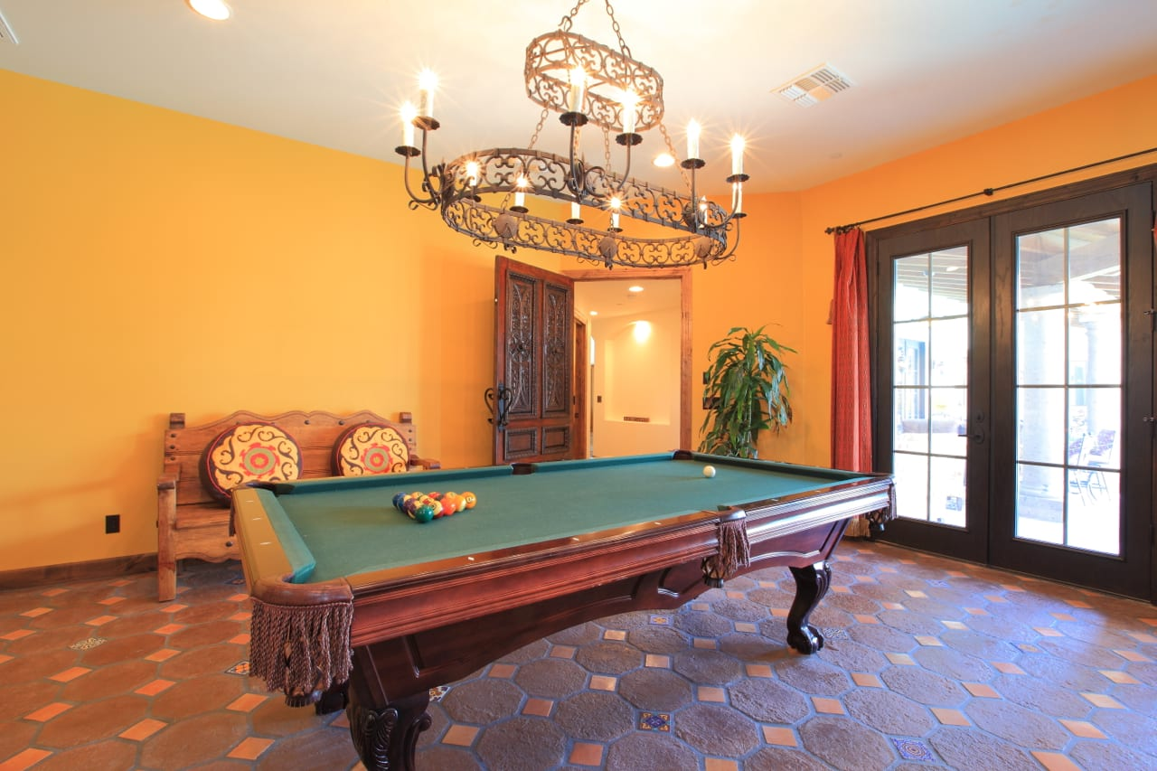 Spanish Style Remodel | 24 | game room