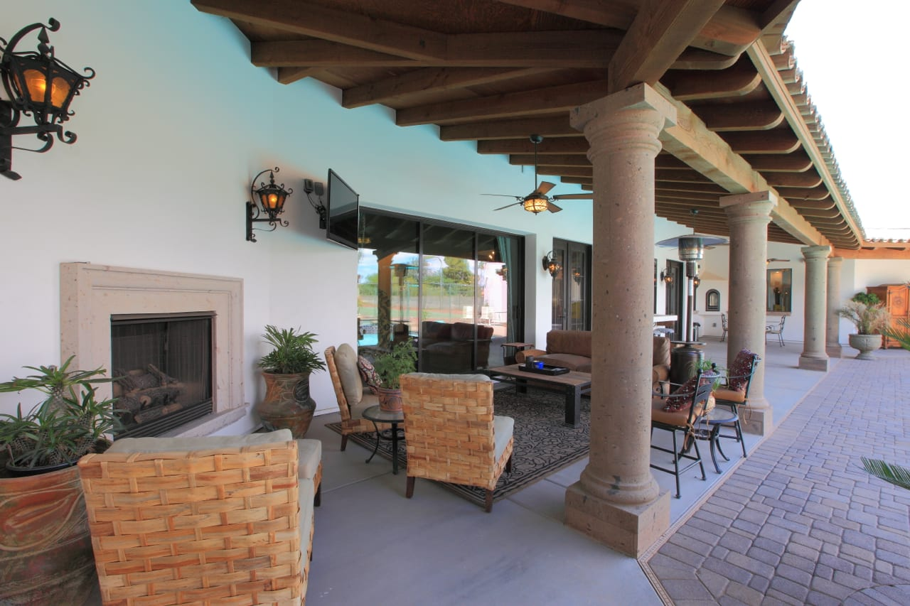Spanish Style Remodel | 25 | patio
