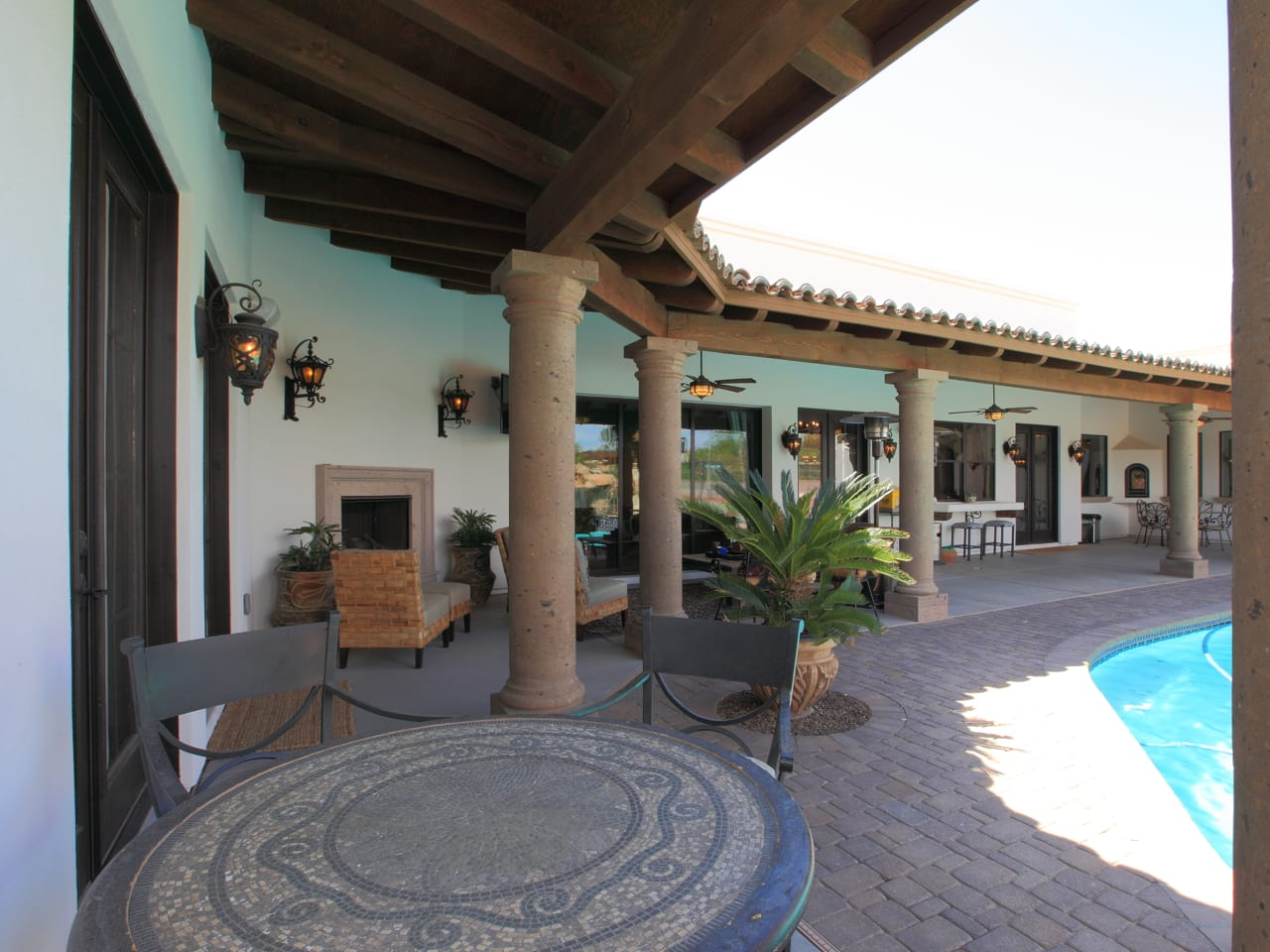 Spanish Style Remodel | 26 | patio