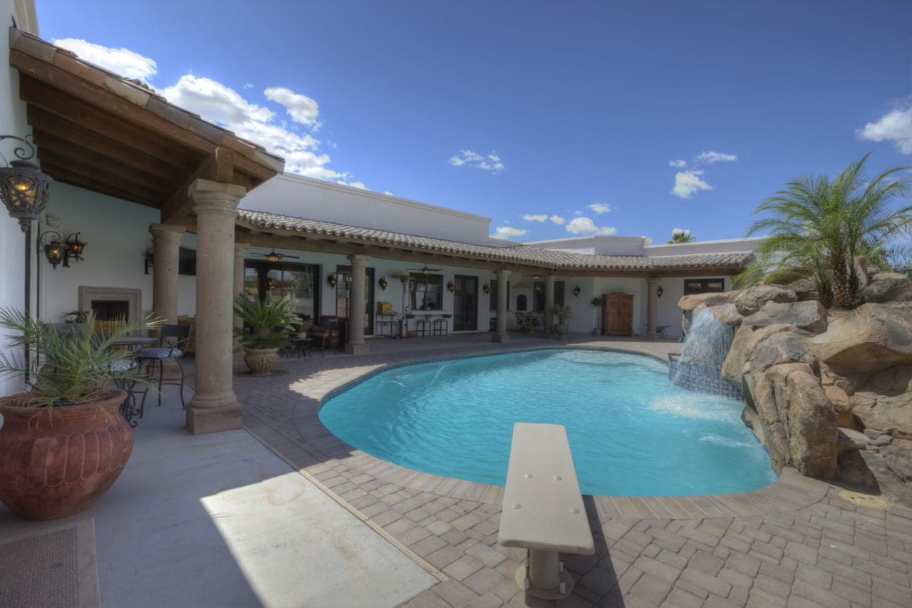 Spanish Style Remodel | 27 | pool
