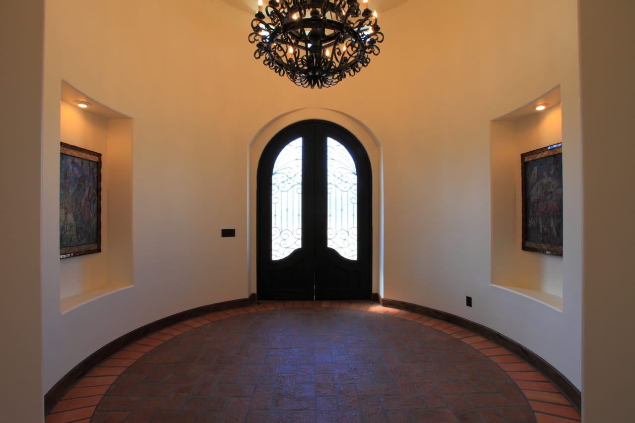 Spanish Style Remodel | 3 | entryway