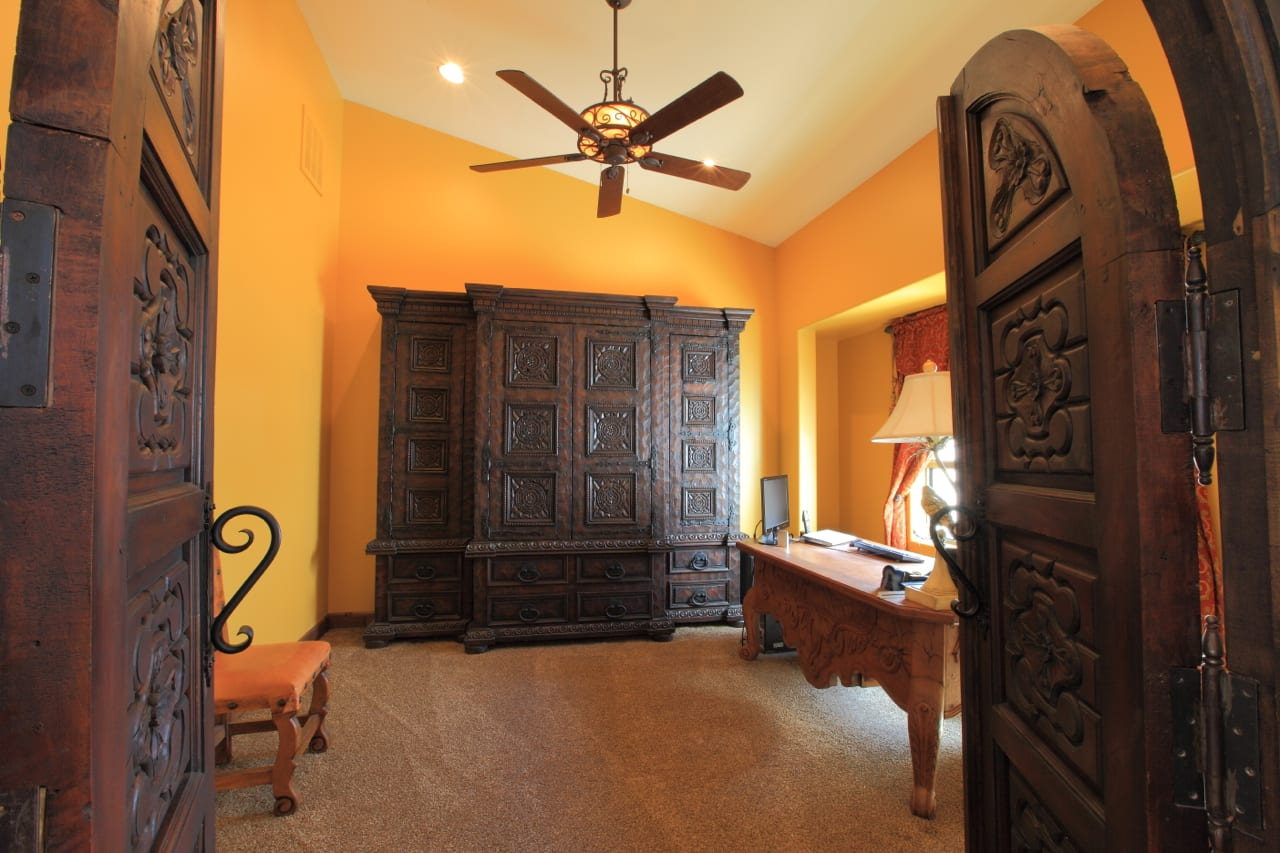 Spanish Style Remodel | 4 | office