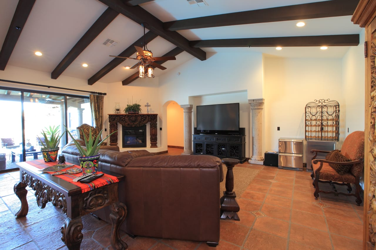 Spanish Style Remodel | 6 |family_room
