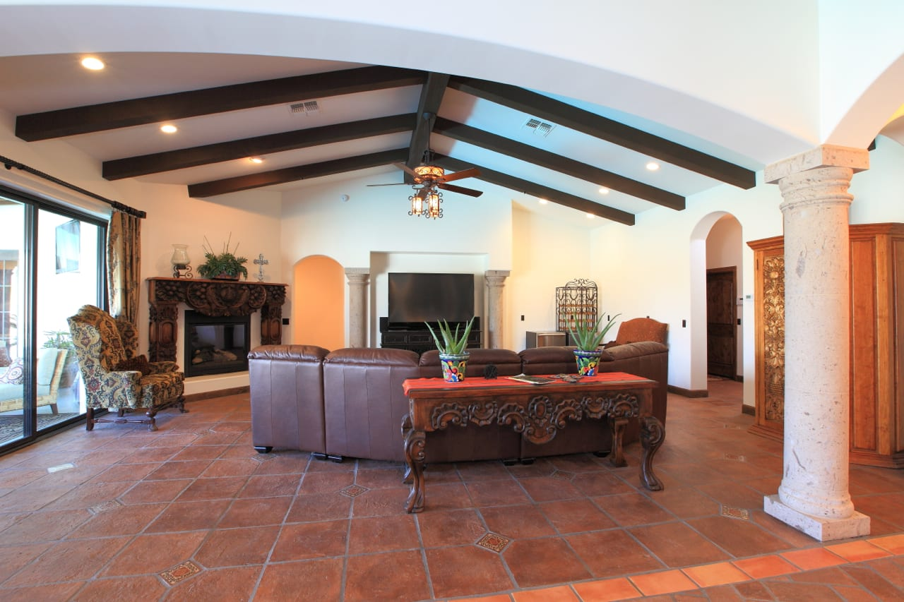 Spanish Style Remodel | 7 | family-room