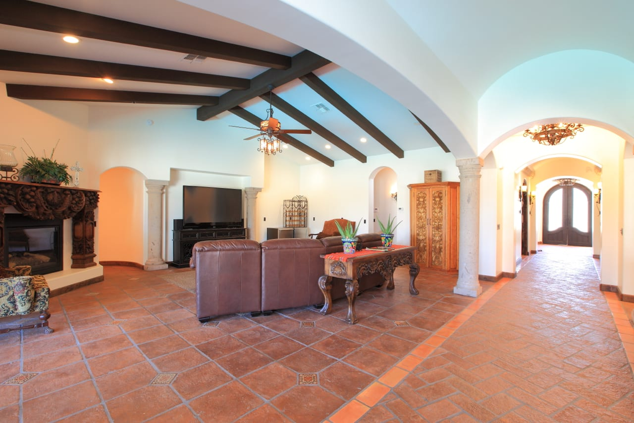 Spanish Style Remodel | 8 | family-room