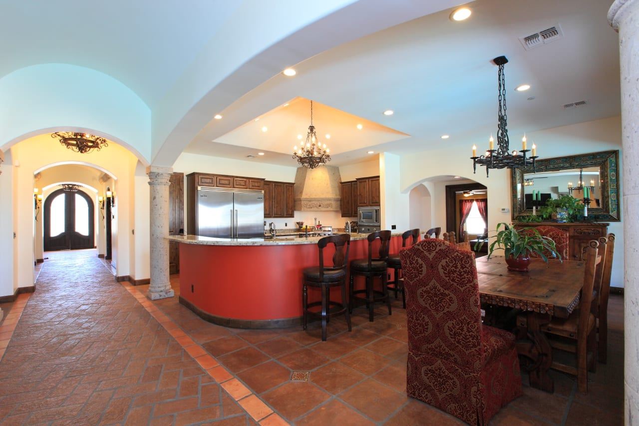 Spanish Style Remodel | 9 | dining-room-and-kitchen